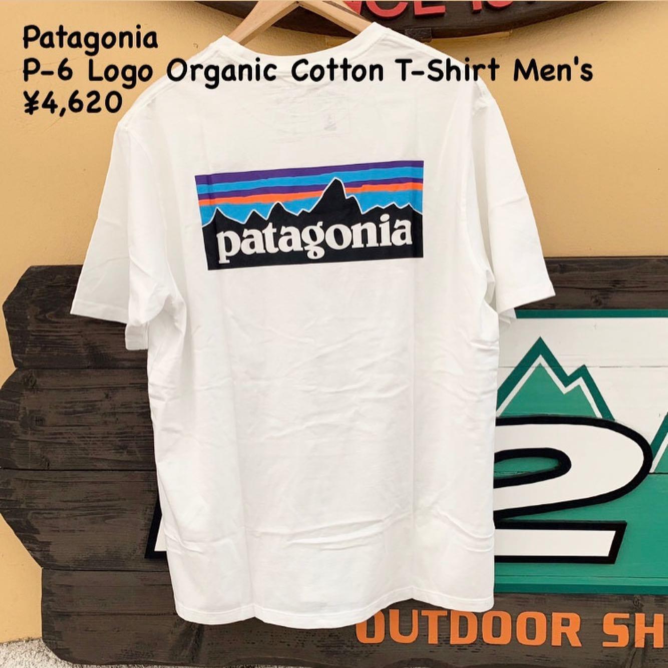 涼しく、風通しがよく、軽量Patagonia P-6ロゴ オーガニック Tシャツ メンズのご紹介