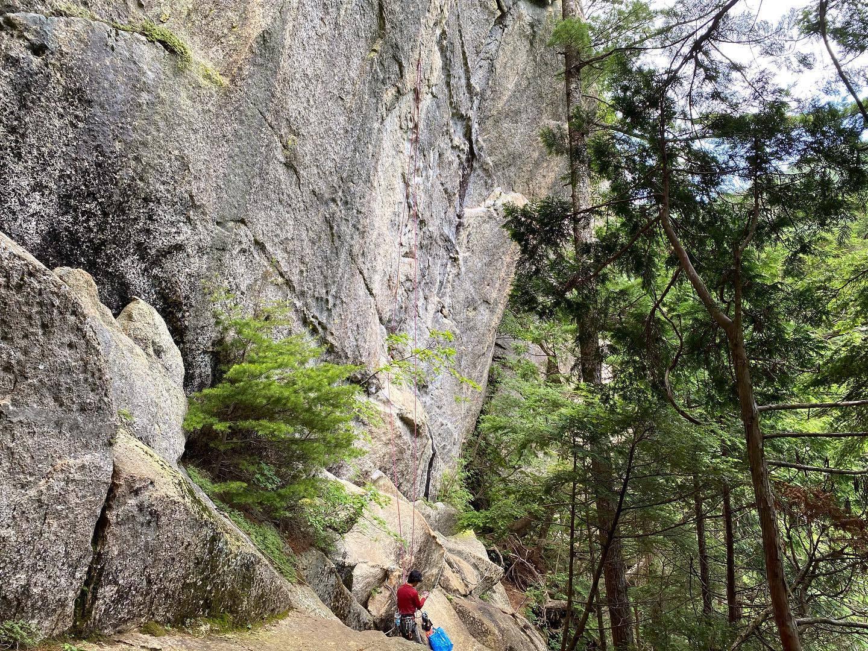 先日のお休みは瑞牆、カサメリ沢に行ってきました。