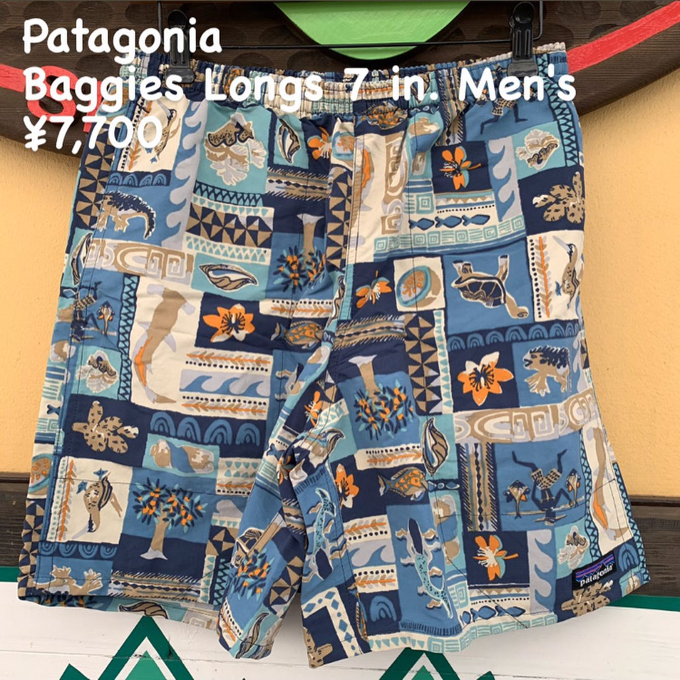 Patagonia バギーズ ロング 7インチ メンズのご紹介