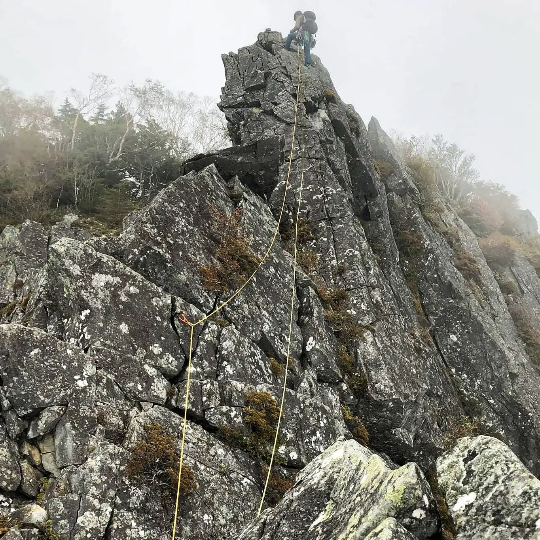 先日のお休みに乾徳山に行ってきました。