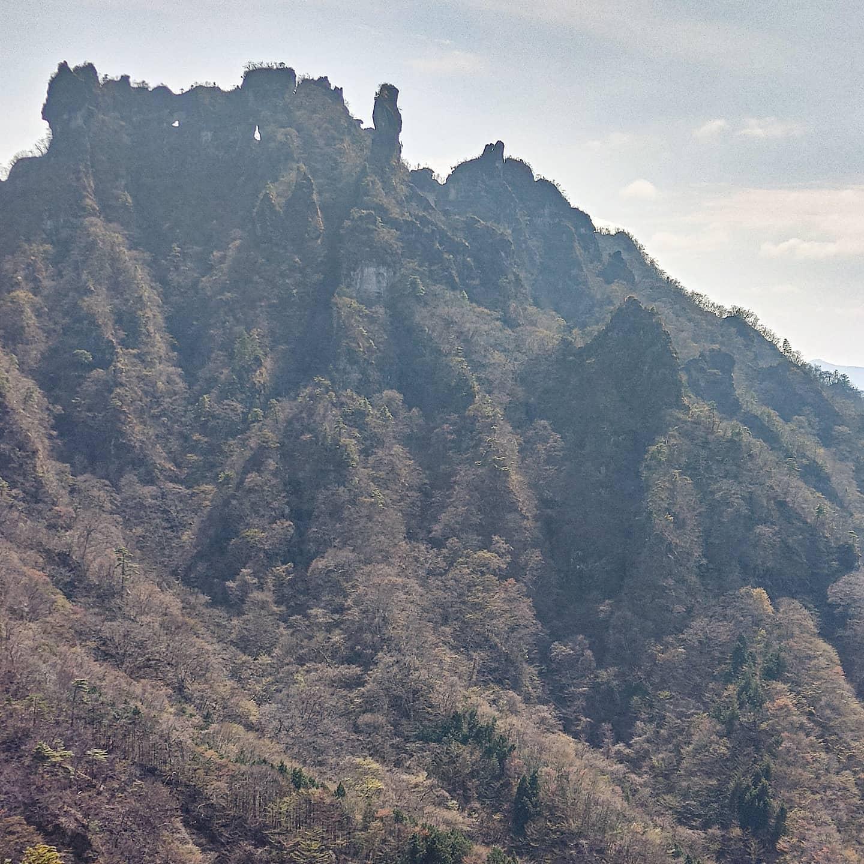 ホームマウンテンである妙義山へ行ってきました!