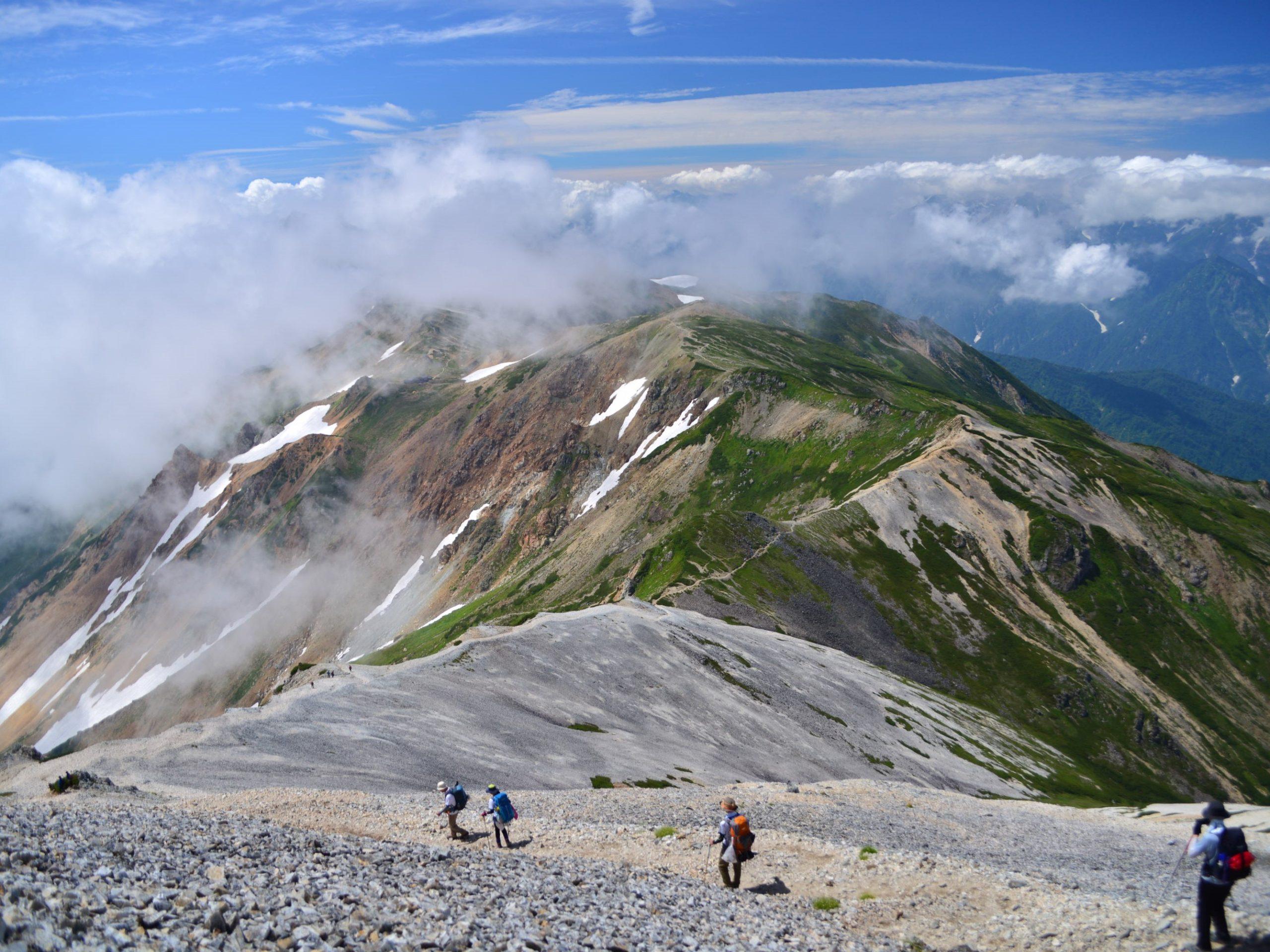 2021.8.27-29 山の講習会中級編《白馬三山》(S8)