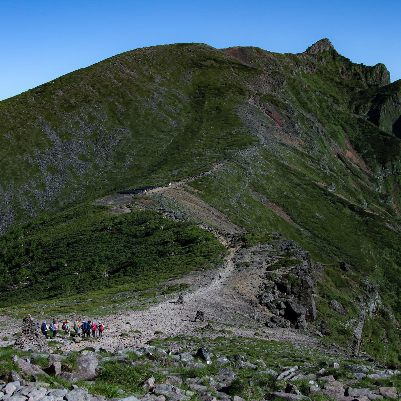 7月17・18日に山の講習会中級編で南八ヶ岳の硫黄岳と赤岳に行ってきました。