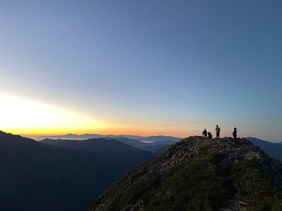 日本百名山のひとつ、奥飛騨の名峰・笠ヶ岳へ行ってきました。Part 2