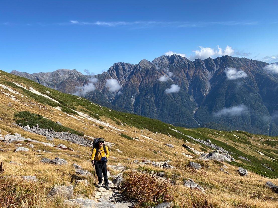 日本百名山のひとつ、奥飛騨の名峰・笠ヶ岳へ行ってきました。