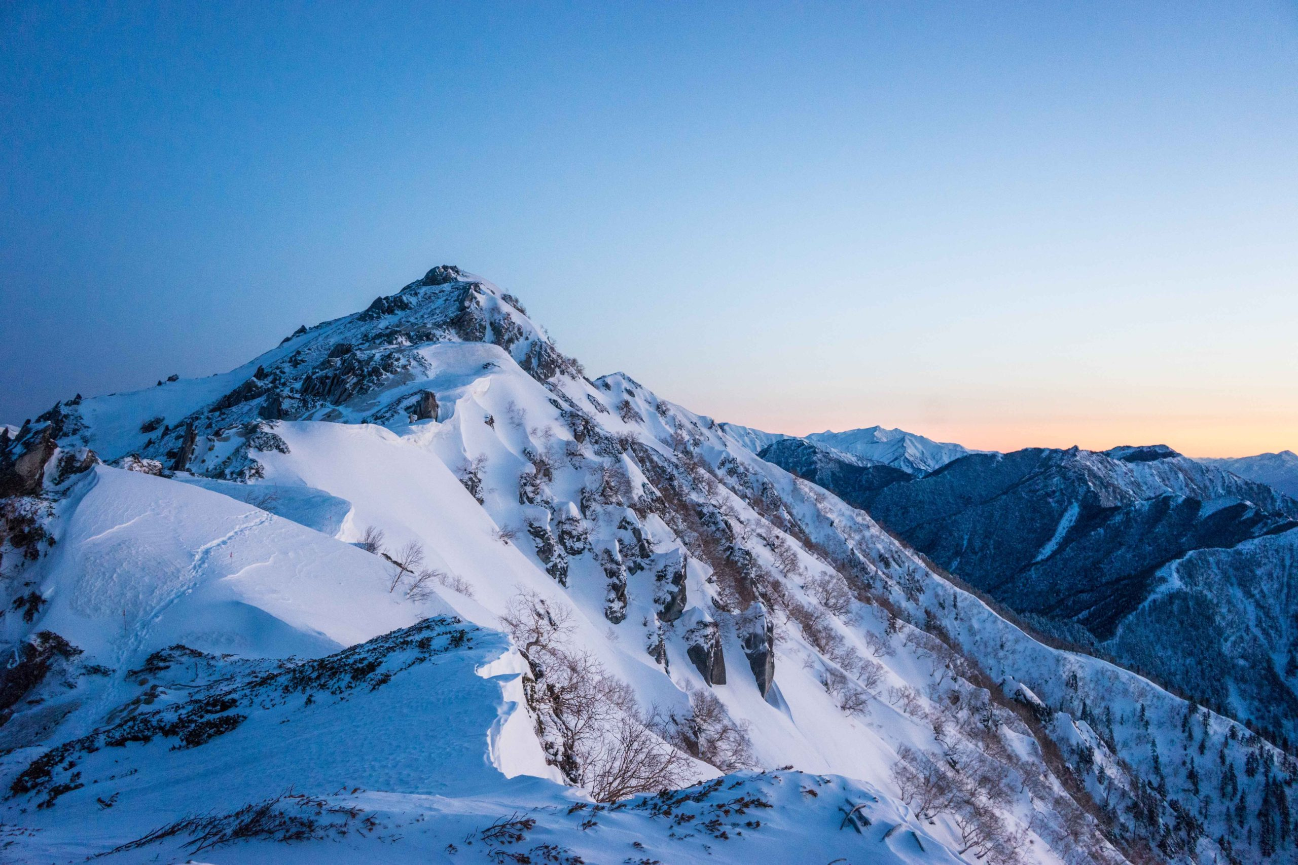 2021.5.2-5 山の講習会[雪山編]雪山縦走《燕岳-常念岳》(W5)