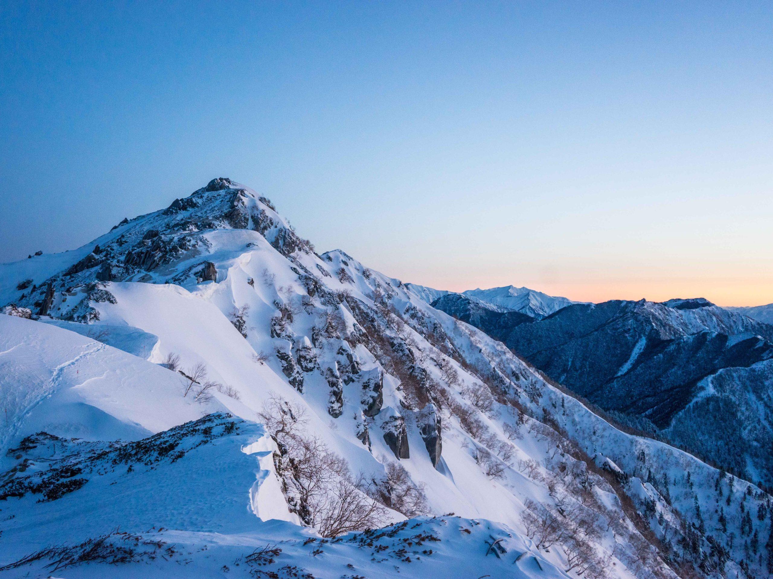 2022.5.2-4 山の講習会雪山編*雪山挑戦《燕岳》(W5)