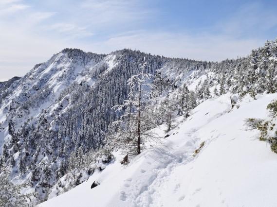 2022.1.9 山の講習会雪山編*雪山体験《黒斑山》(W1)