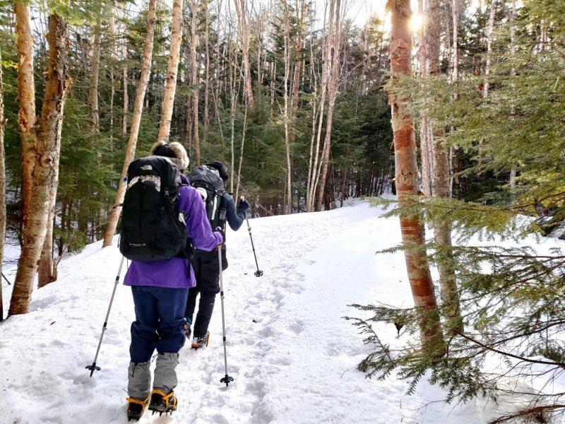 2021.1.9 山の講習会[雪山編]スノートレッキング(W1)