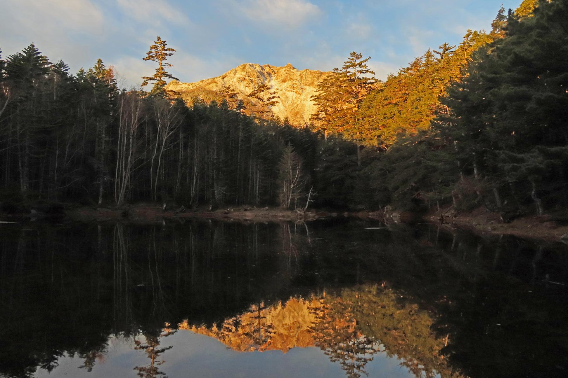 10月20-21日北八ヶ岳に行ってきました。