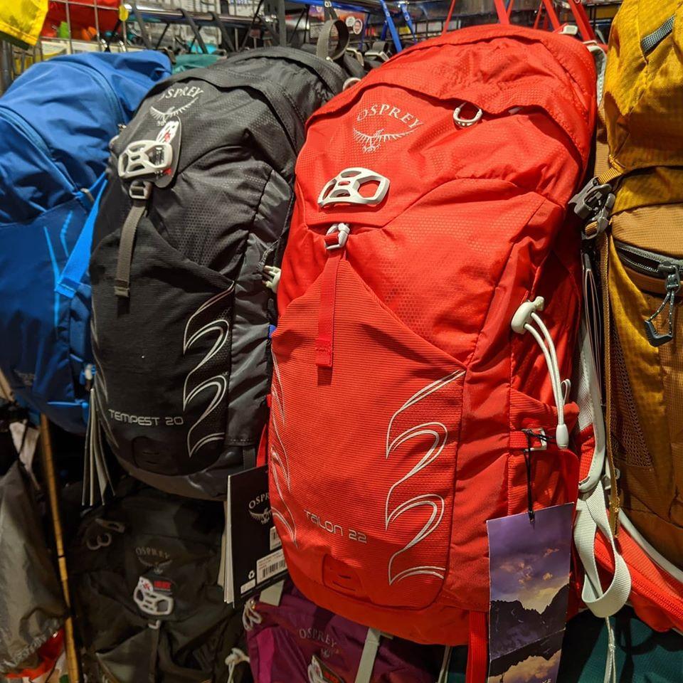 日帰りの低山等の登山時にピッタリなバックパックのご紹介