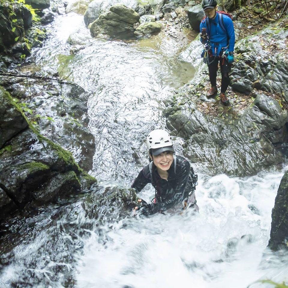ついに5週連続沢登り。北秋川水系のクドレ沢左俣へ行ってきました