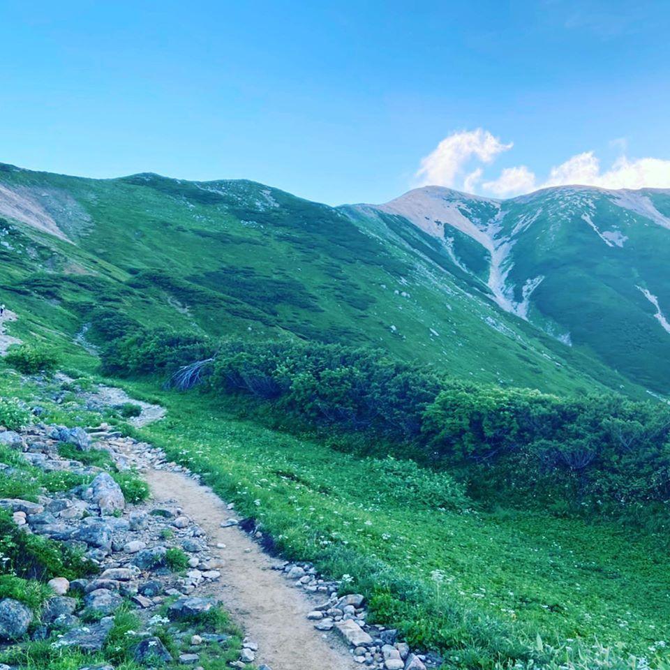 富山県の薬師岳に登ってきました