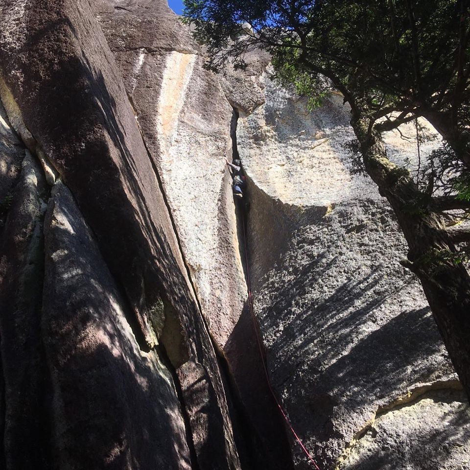 瑞牆の摩天岩に行ってきました