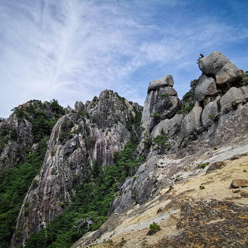 小川山にクライミングに行ってきました