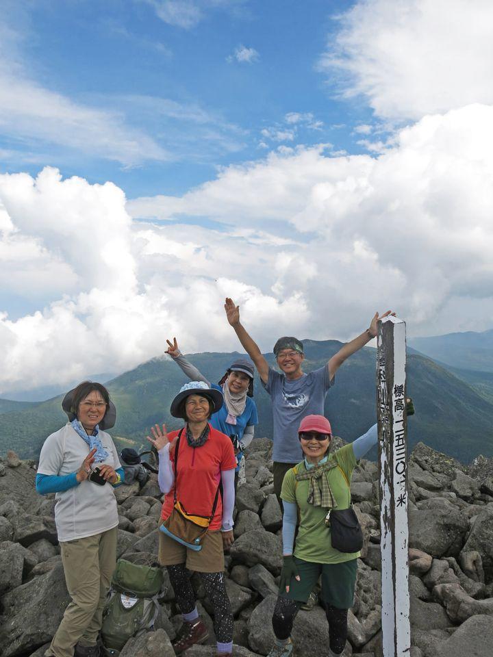 山の講習会入門編で、8/22-23で北八ヶ岳/蓼科山~北横岳に行ってきました♪