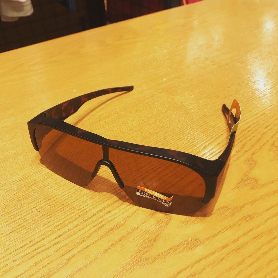 眼鏡の方でサングラスをお探しの方オススメ。『KOHLA オーバーグラス』