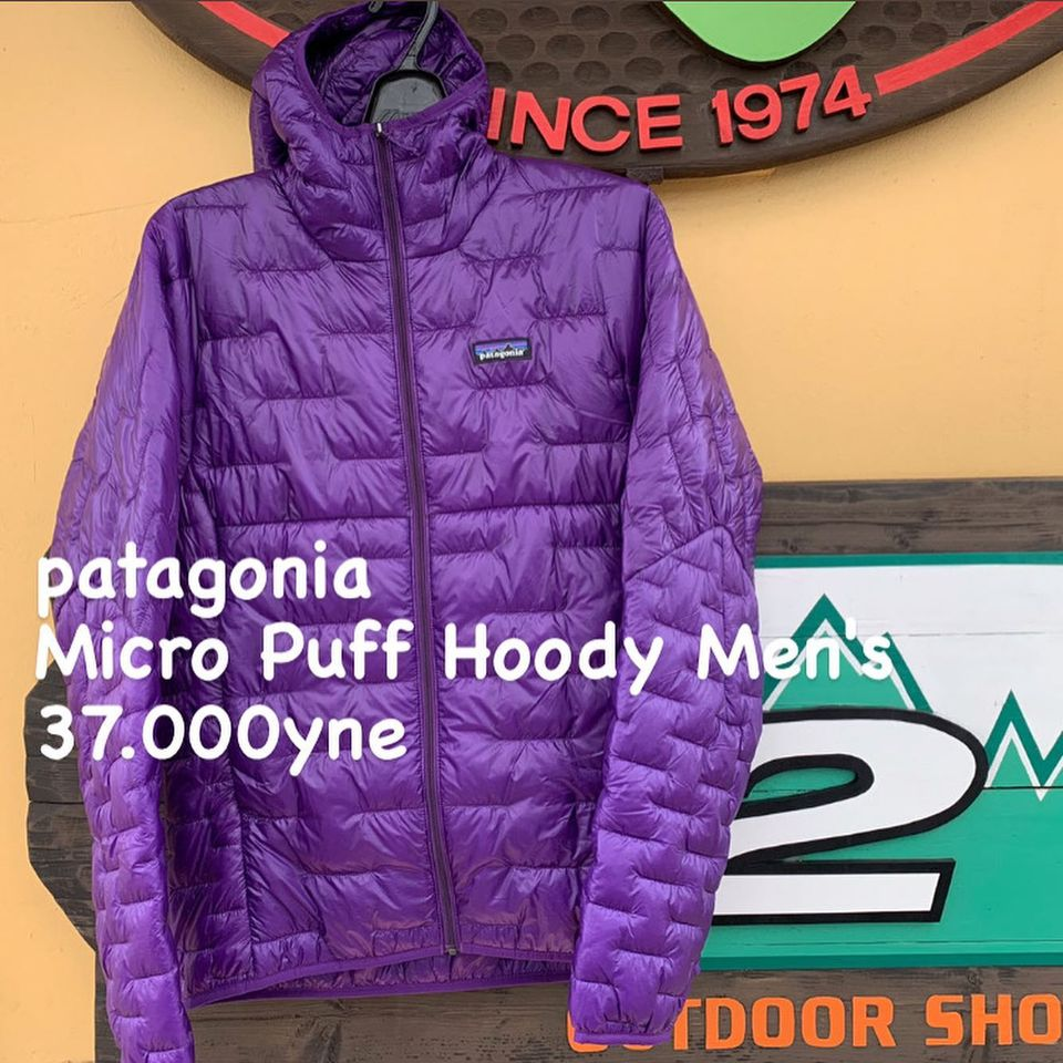 超軽量!保温性も兼ね備えた『Patagonia マイクロ パフ フーディ』のご紹介