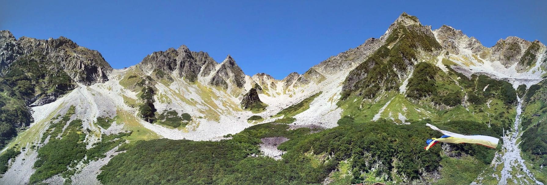 9/18-20日 [山の講習会中級編]で奥穂高岳に行って来ました。