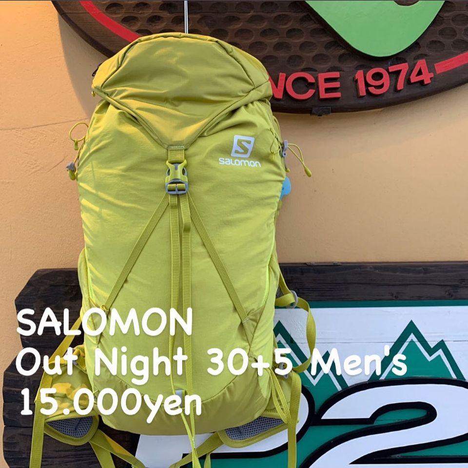 高い快適性を追求した『SALOMON アウトナイト 30+5』のご紹介