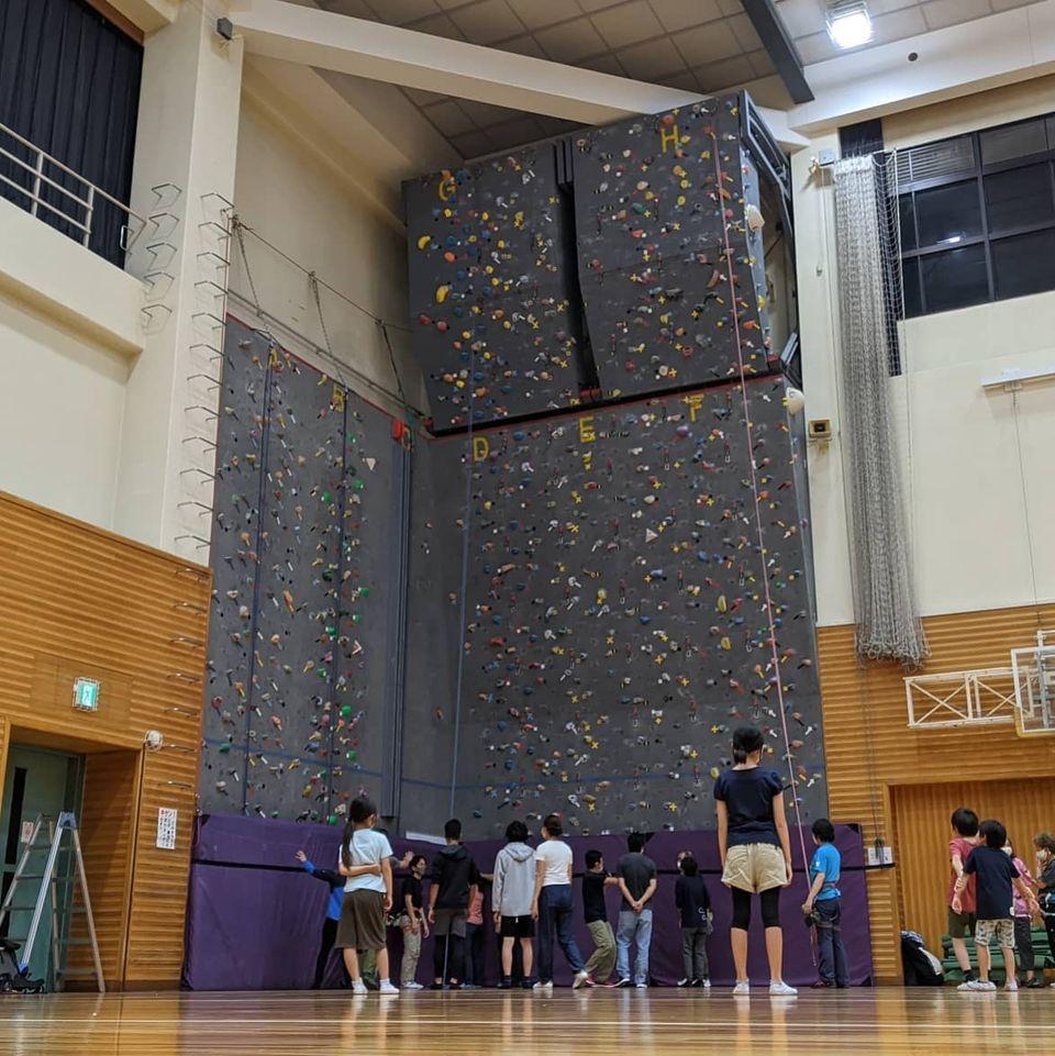 習志野市東部体育館でクライミングウォール利用者カード取得講習会に行ってきました