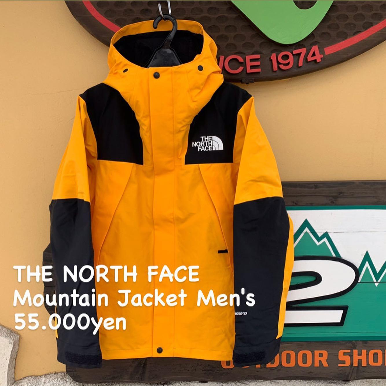 街でも山でも着たい方におすすめ『THE NORTH FACE マウンテンジャケット メンズ』のご紹介