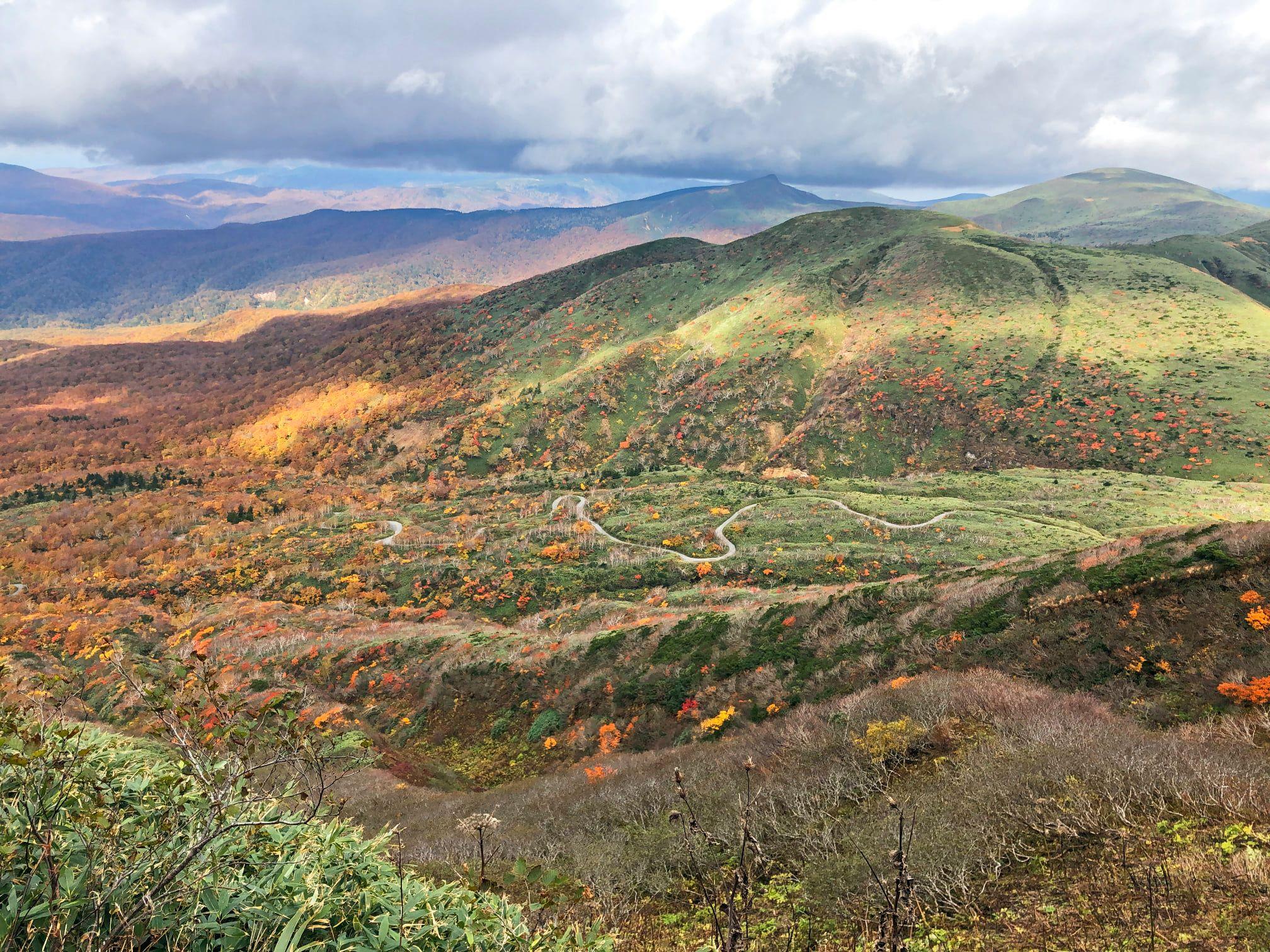 2020.10.13-14、森吉山・秋田駒ケ岳に行ってきました♪