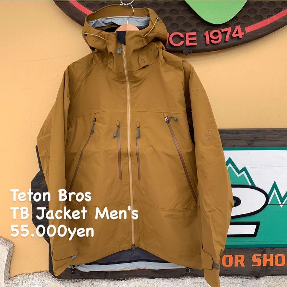 変わらぬコンセプトで信頼性を得たフラッグシップ。『Teton Bros TB ジャケット メンズ』のご紹介