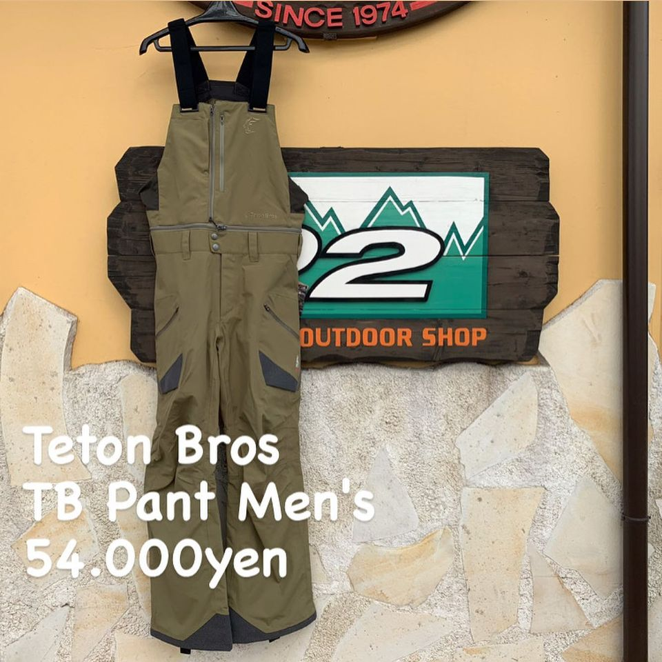 未だ進化を続けるBackcountry Pant。『Teton Bros TB パンツ メンズ』のご紹介