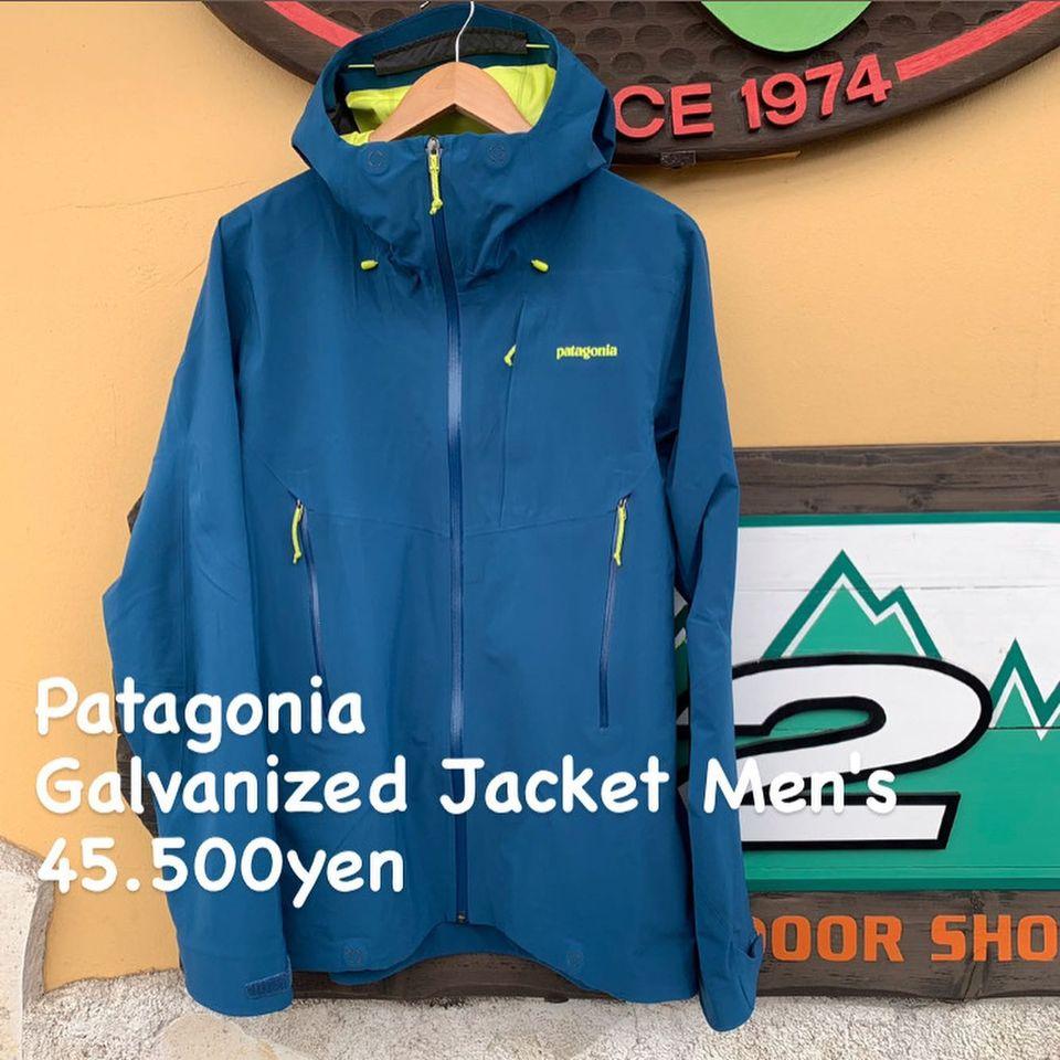 高山の挑戦的な地形を切り開くクライマーの方へ『Patagonia ガルヴァナイズド ジャケット メンズ』のご紹介