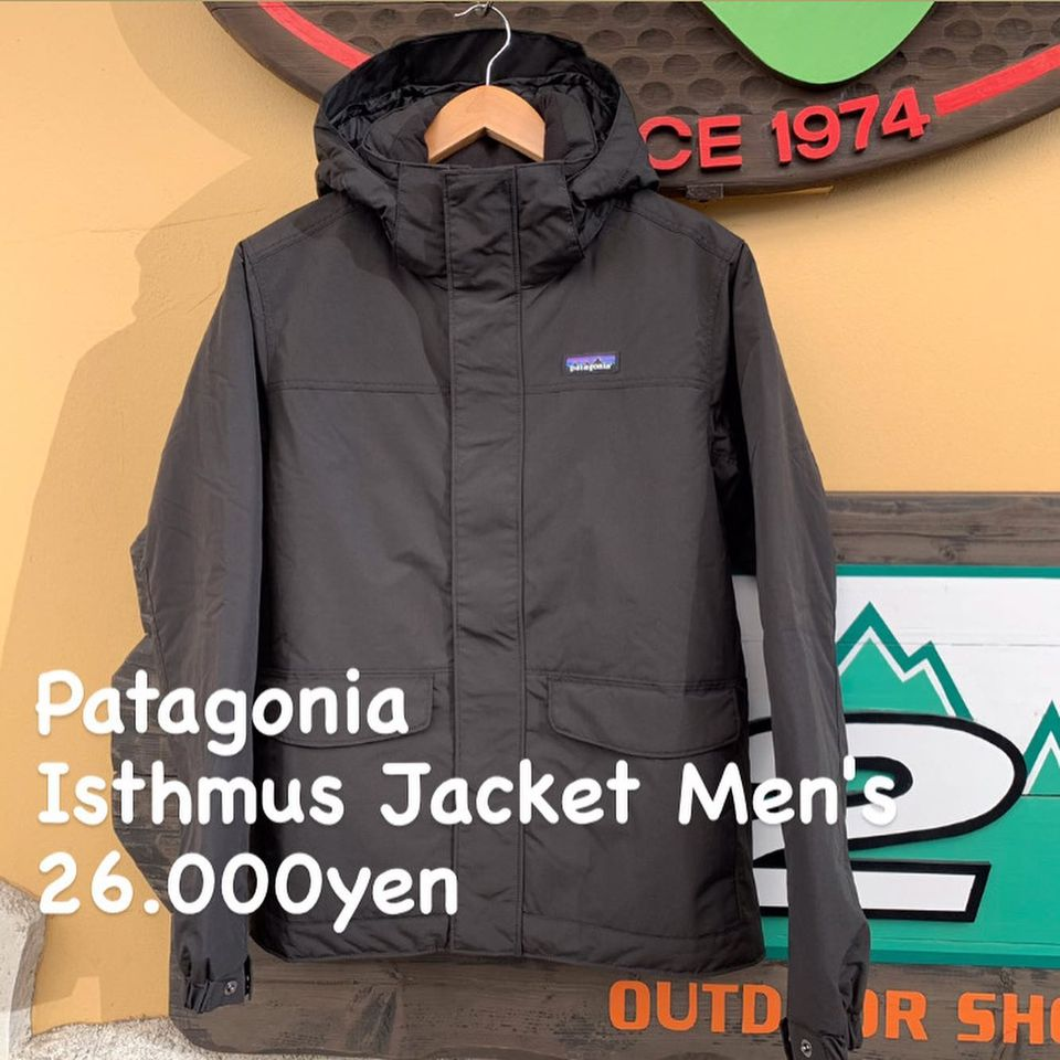 耐風性を備え悪天候に対応。『Patagonia イスマス ジャケット メンズ』のご紹介