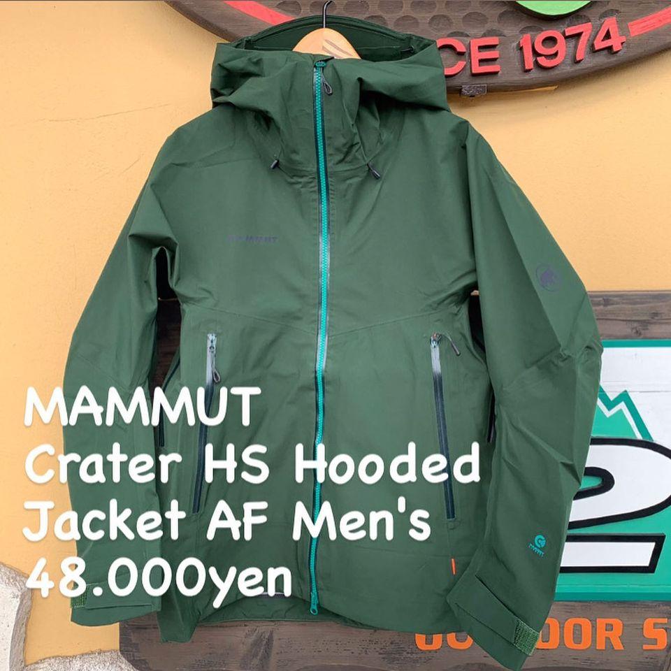 時代を超えたクラシックなデザインが魅力『MAMMUT クレーター HS フーデット ジャケット AF メンズ』のご紹介