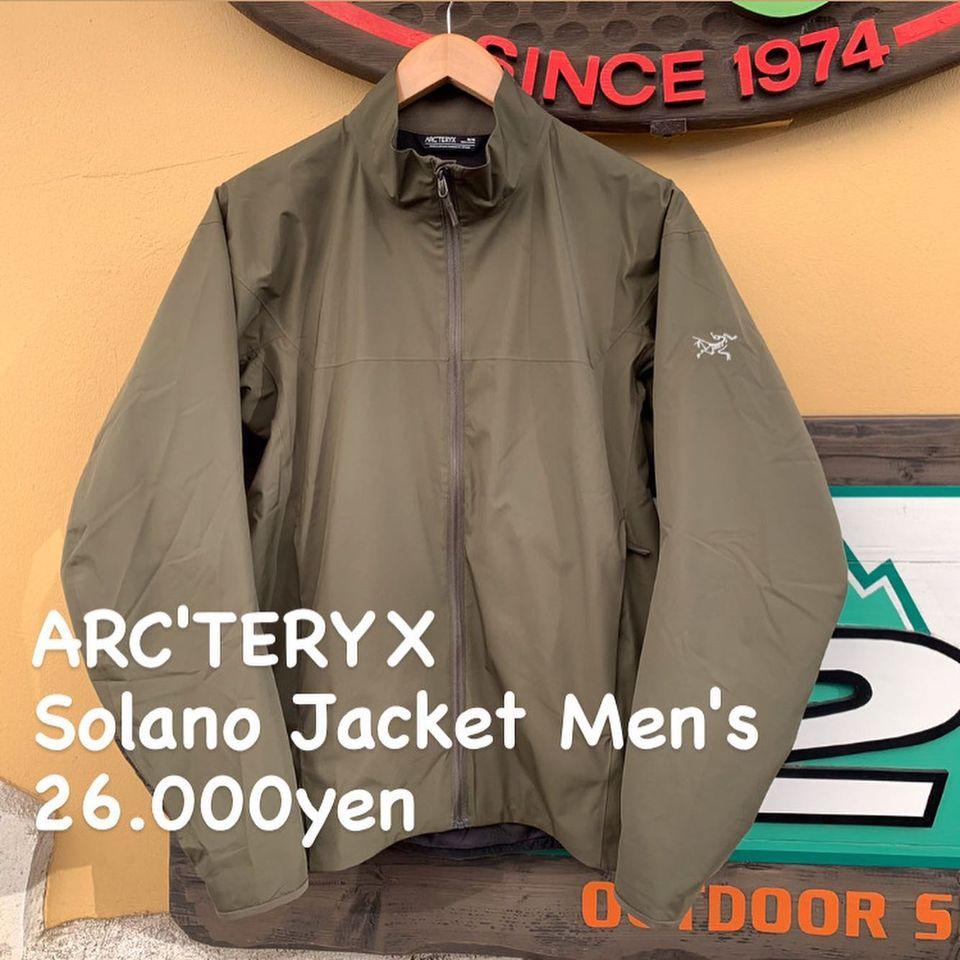 過酷なフィールドで培われた機能性に都会の洗練とシルエットをまとう。『ARC'TERYX ソラノ ジャケット メンズ』のご紹介
