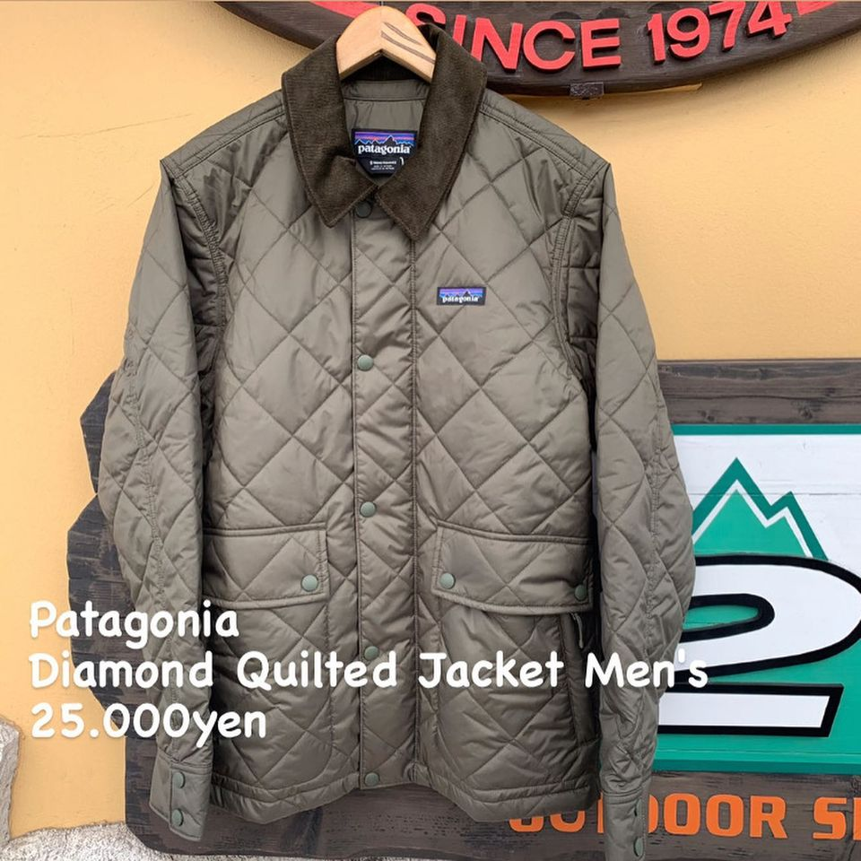 悪天候対応型ジャケット『Patagonia ダイアモンド キルト ジャケット メンズ』のご紹介