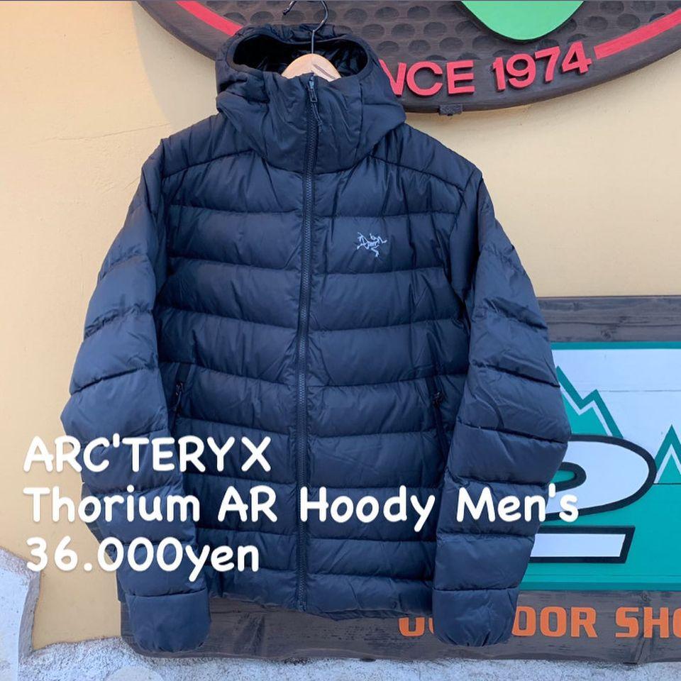 活動を終えたら着たいダウンジャケット。『ARC'TERYX ソリウム AR フーディ メンズ』のご紹介