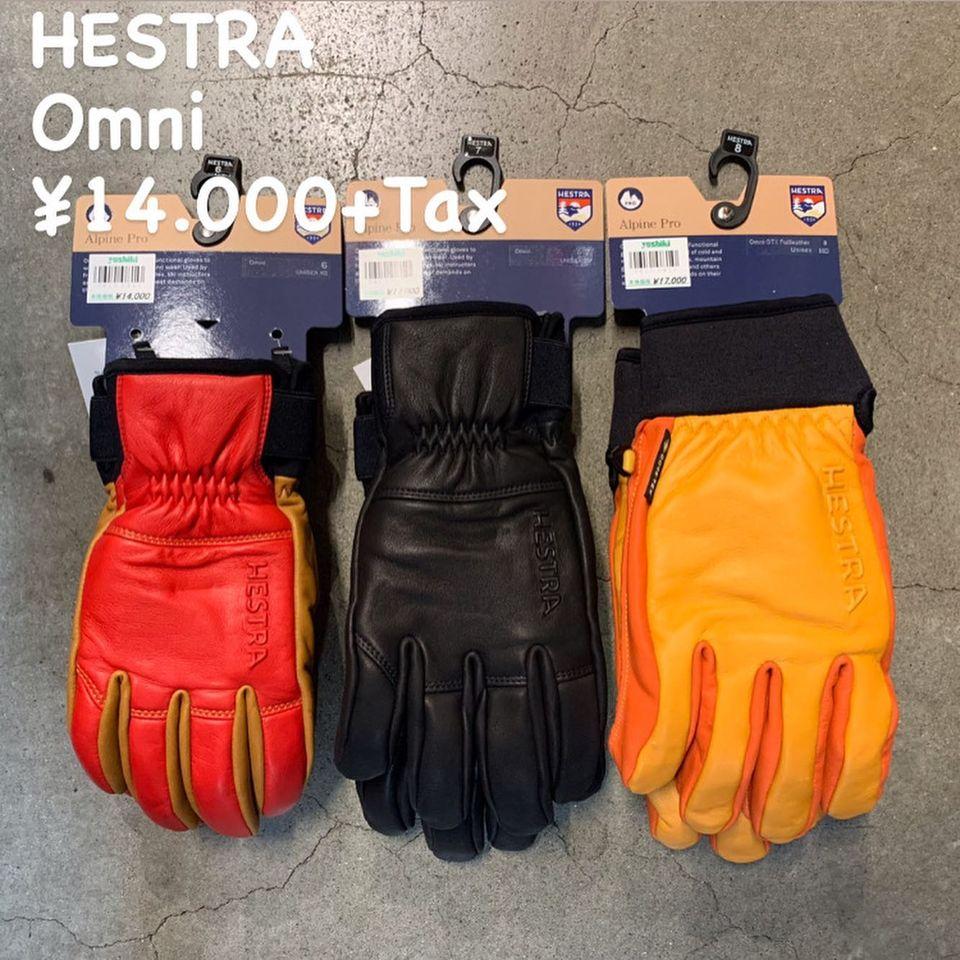 HESTRA 2020-2021 Newモデル入荷(その2)