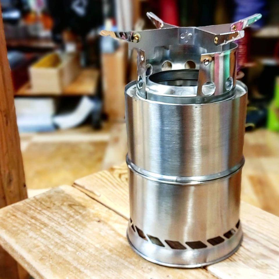 コンパクトで燃焼効率のよい焚き火台『キザキ KO-G005』のご紹介