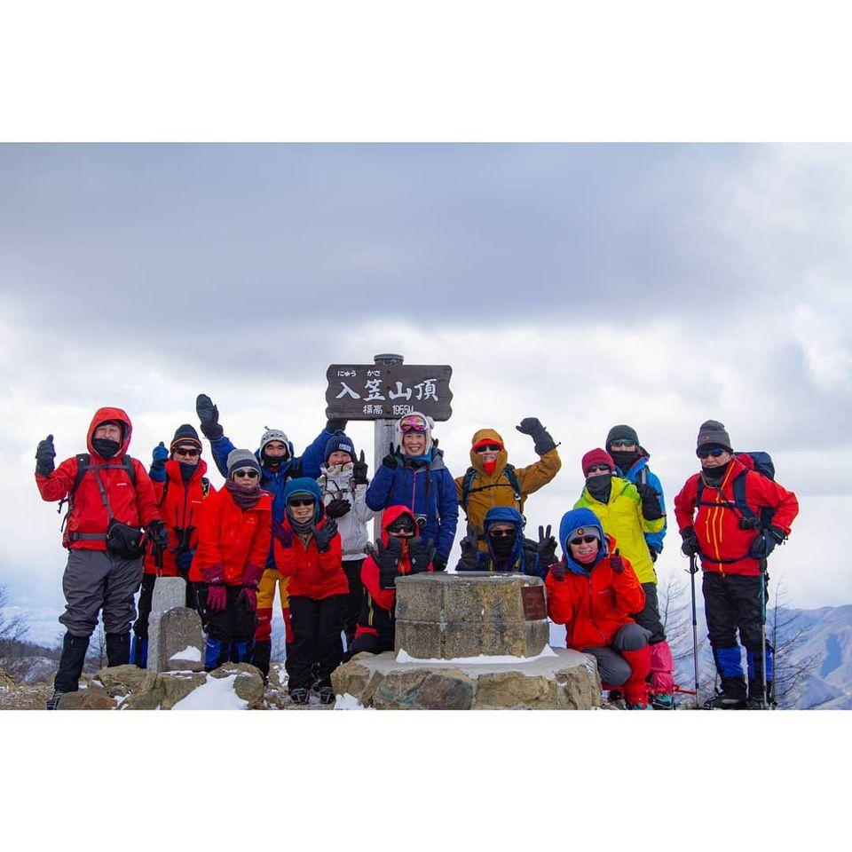 山の講習会雪山編で入笠山に行ってきました