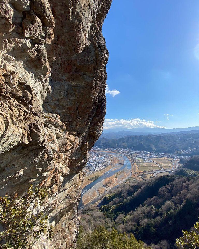 先日のお休みは、伊豆にあります城山に行ってきました
