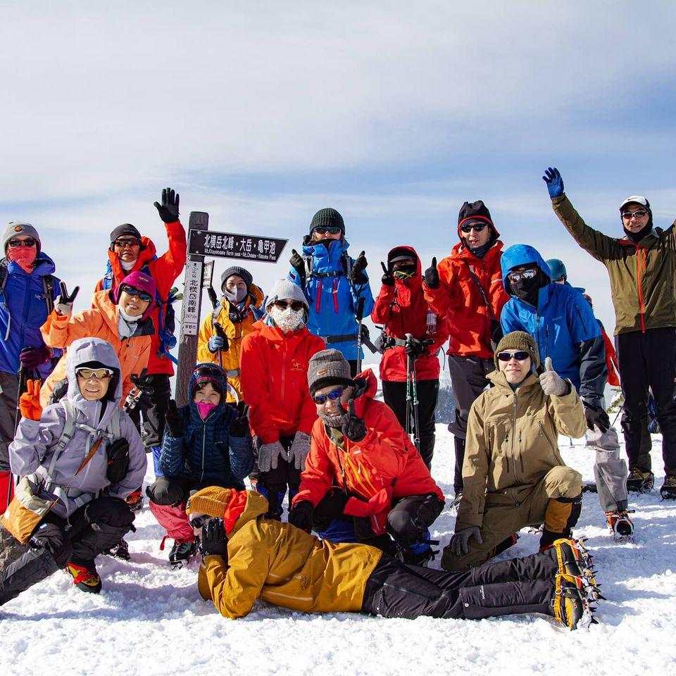 2月の山の講習会、北横岳に行ってきました