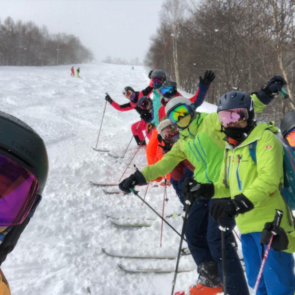 滑りまくりミニで尾瀬岩鞍スキー場に来ています