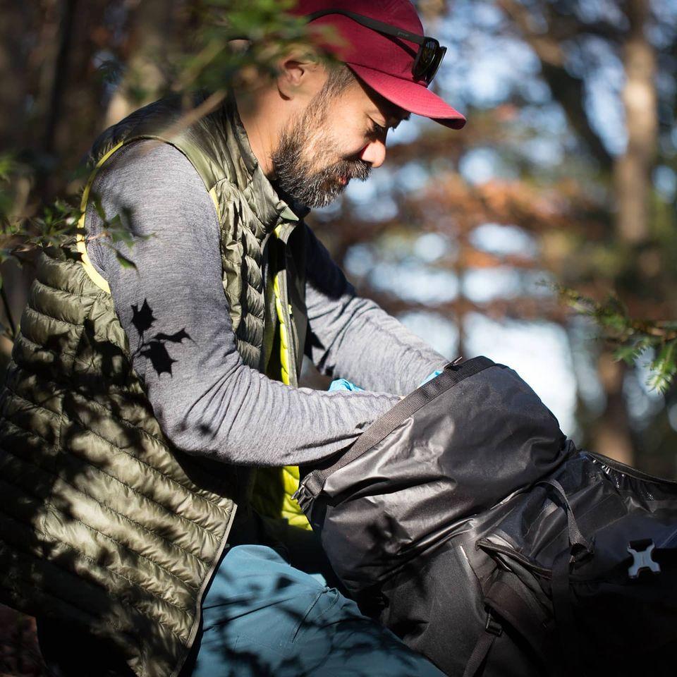 山でのアクティビティの中でストレスが少なく快適に活動できる。それがプリミノ。