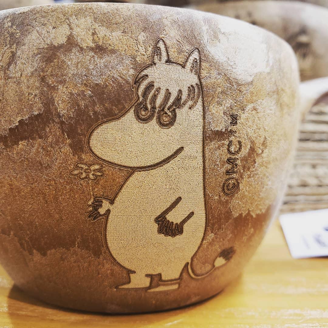 「ムーミン」とコラボした自然に優しい素材で作られたカップのご紹介