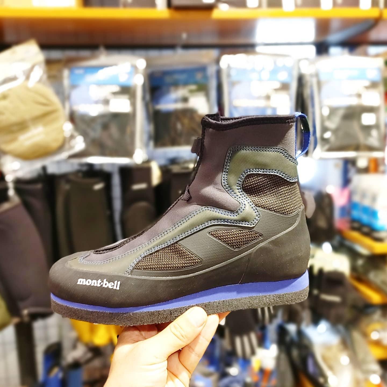 モンベルの沢靴がモデルチェンジ『サワートレッカー』のご紹介