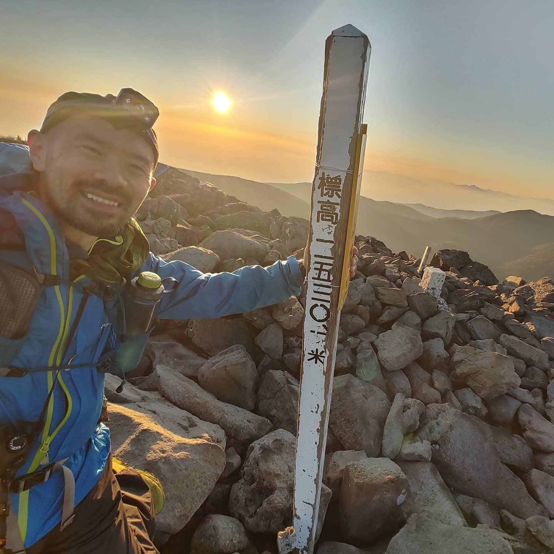 先日のお休みに八ヶ岳主脈全山縦走をしてきました