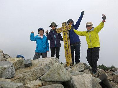 2019年7月11-12日 yama楽で「爺ヶ岳」に行ってきました!