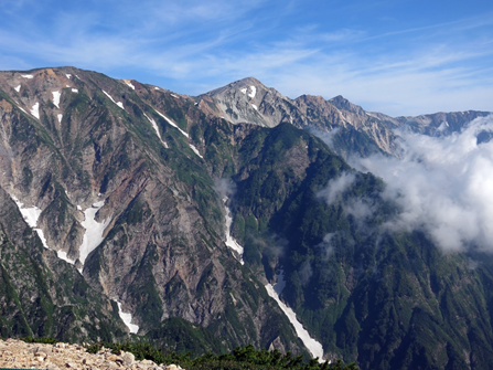 ✿2020年8月1-2日 yama楽で唐松岳に行ってきました♪