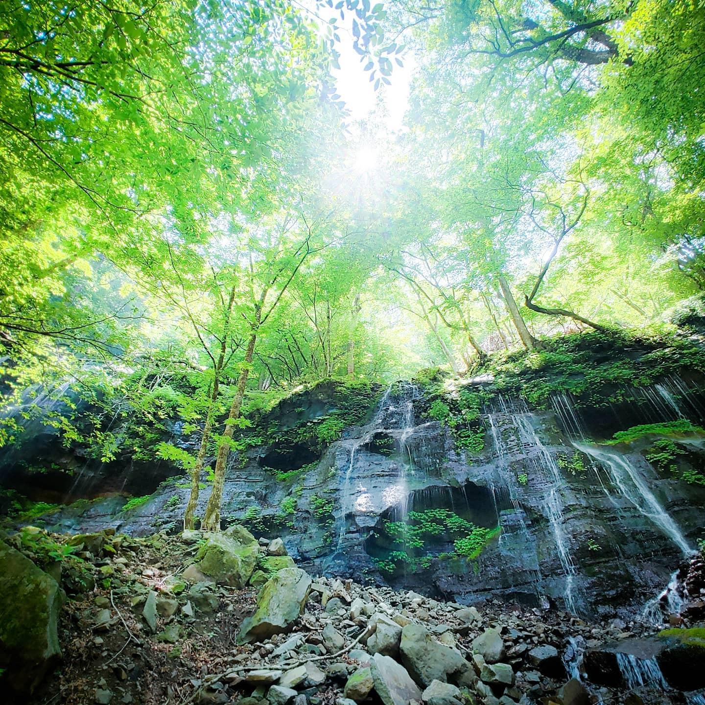 那須高原にあるスッカン沢と桜沢へ沢登りをしてきました