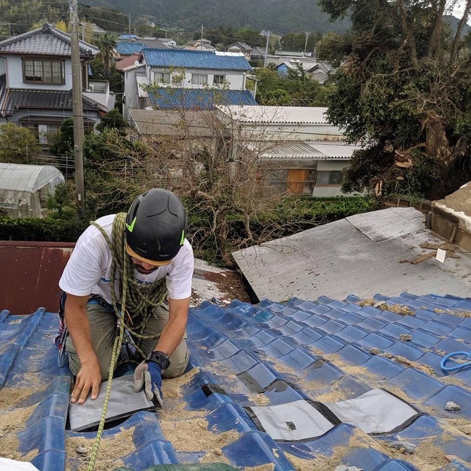 千葉県内の台風被害のボランティアに参加してきました。