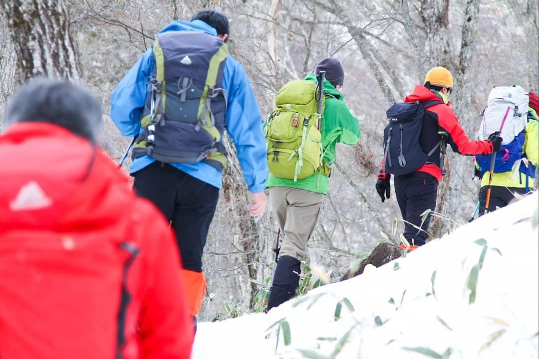 山の講習会雪山編で赤城山へ行ってきました!